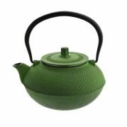 Žalias japoniško stiliaus ketaus arbatinukas, 1,5 l
