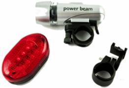 """Žibintų rinkinys dviračiui """"Power Beam"""""""