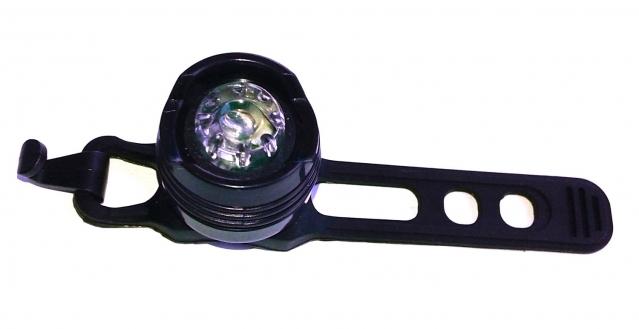 Universalus LED žibintas dviračiui