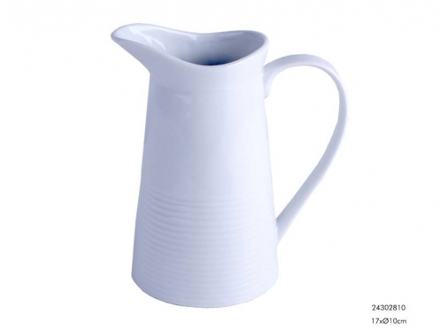 Baltas porcelianinis ąsotis, 500 ml