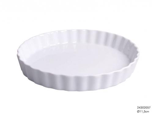 Elegantiško dizaino porcelianinis indas, 11,5 x 2,5 cm