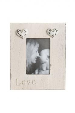 """Pastatomas sendinto medžio rėmelis """"Love"""", 17,7 x 21,4 cm"""