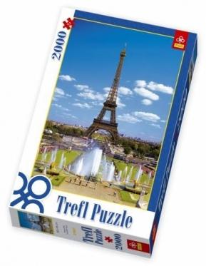 """""""Trefl"""" dėlionė """"Eifelio bokštas"""", 2000 dalių"""