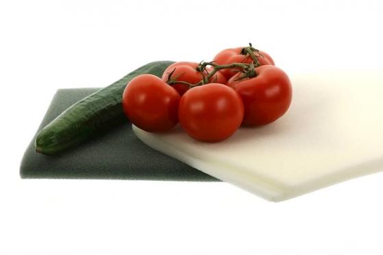 Padėkliukas kempinė vaisiams ir daržovėms laikyti šaldytuve, 47 x 30 cm