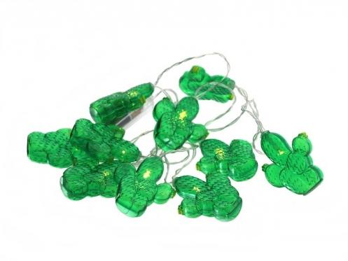 """LED lempučių girlianda """"Kaktusai"""", 135 cm"""