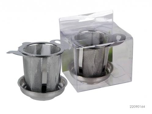 Nerūdijančio plieno arbatos sietelis, 7 x 7 cm