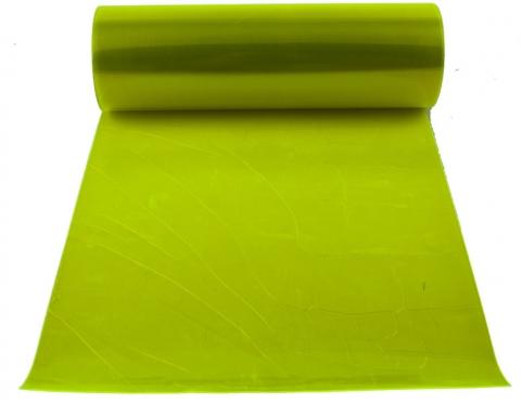 Automobilio žibintų plėvelė, 0,3 x 8,5 m (žalia)