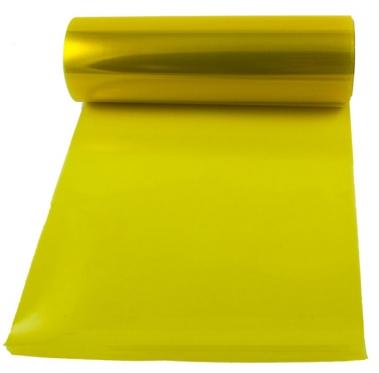 Automobilio žibintų plėvelė, 0,3 x 8,5 m (geltona)