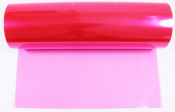 Automobilio žibintų plėvelė, 0,3 x 8,5 m (rožinė)