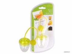 Plastikinis arbatos sietelis, 13 cm