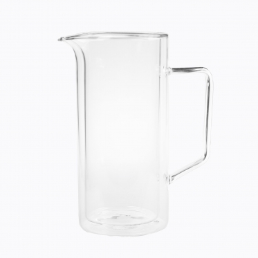 "Borosilikatinio stiklo terminis ąsotis ""Boral"", 1 l"