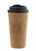 Ekologiškas kelioninis puodelis su dangteliu, 500 ml