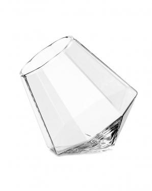 """Borosilikatinio stiklo stiklinė """"Deimantas"""", 350 ml"""