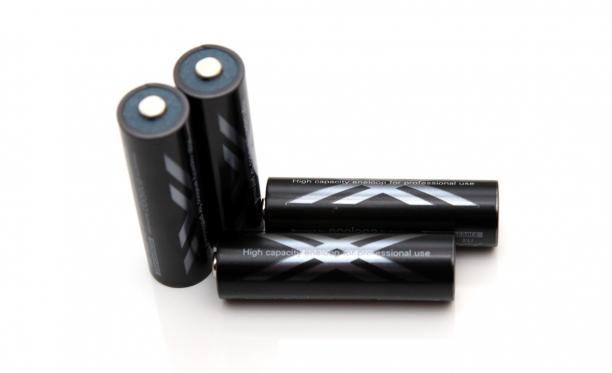 """Kraunama AAA tipo baterija """"Sanyo"""", (1 vnt)"""
