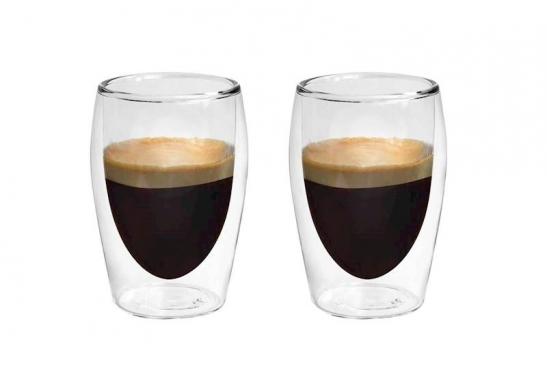 """""""Boral"""" borosilikatinio stiklo stiklinių rinkinys """"Espresso"""", 80 ml"""