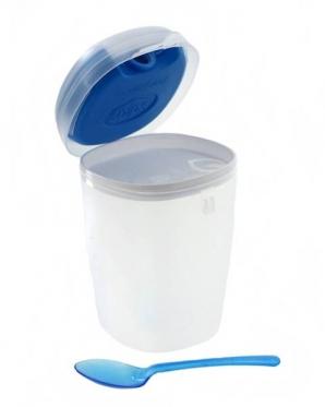 """Plastikinis maisto indelis su šaldymo elementu """"Snips"""", 0,5 l"""