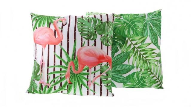 "Dekoratyvinė pagalvė ""Tropikai"", 45 x 45 cm"