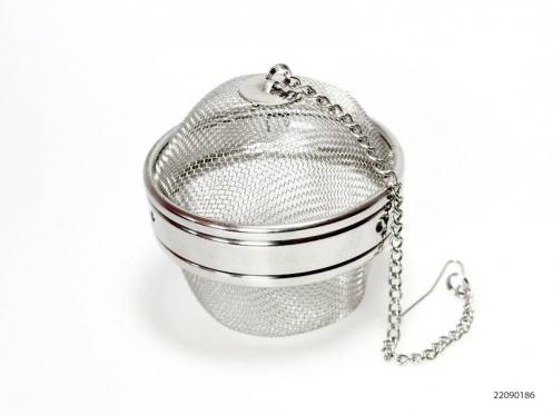 Nerūdijančio plieno arbatos sietelis, 8 x 8,5 cm