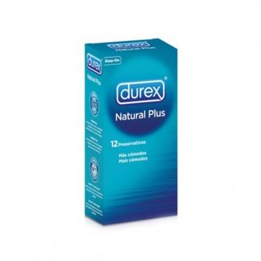 """Prezervatyvai """"Durex"""" Natural Plus, 12 vnt"""