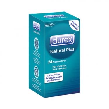 """Prezervatyvai """"Durex"""" Natural Plus, 24 vnt"""