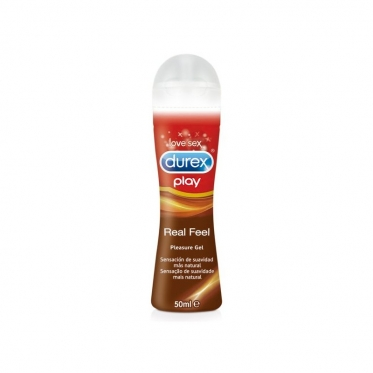 "Lubrikantas ""Durex"" Real Feel, 50 ml"