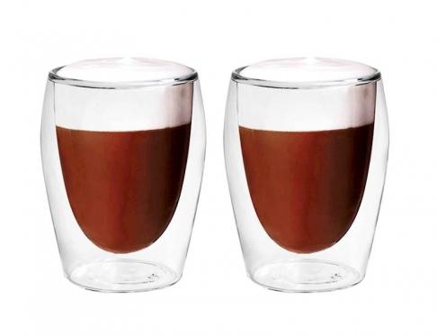 """""""Boral"""" borosilikatinio stiklo stiklinių rinkinys """"Cappuccino"""", 2 vienetai"""