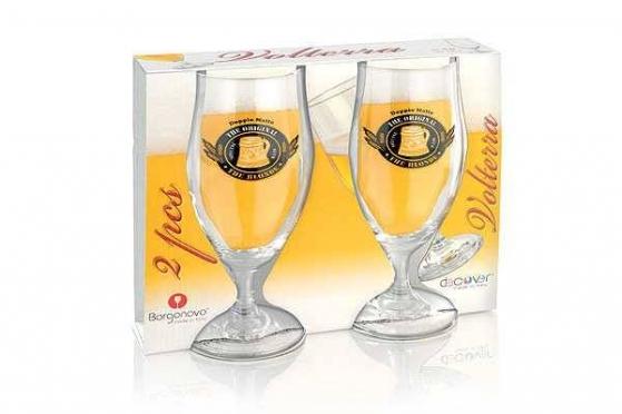 """Stiklinių alui rinkinys """"Borognovo"""", 2 vienetai"""