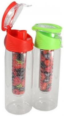 Plastikinė gertuvė su indeliu vaisiams ar ledui, 700 ml