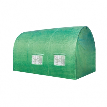 Polietileninis šiltnamis su nerūdijančio plieno karkasu, 350 x 200 x 200 cm