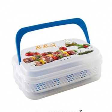 """Terminė pietų dėžutė su šaldymo elementais """"Snips"""", 43 x 10,5 cm"""