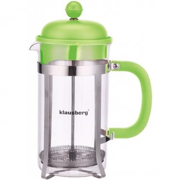 """Kavinukas su kavos tirščių nuspaudėju """"Klausberg"""", 1000 ml"""
