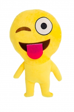 "Dekoratyvinė pagalvėlė ""Emoji Tongue"", 30 cm"