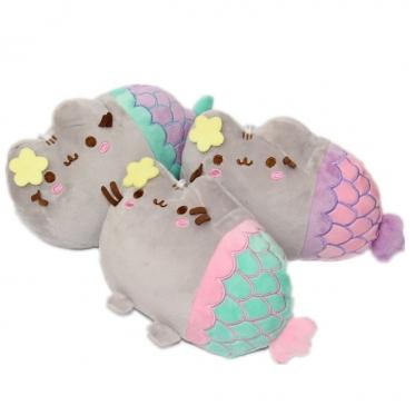 """Dekoratyvinė pagalvėlė """"Katinas - undinė"""", 19 x 12 cm"""