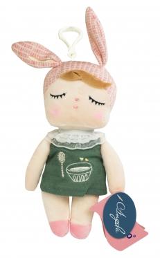 """Pliušinė lėlė su pakabuku """"Metoo"""", 18 cm"""
