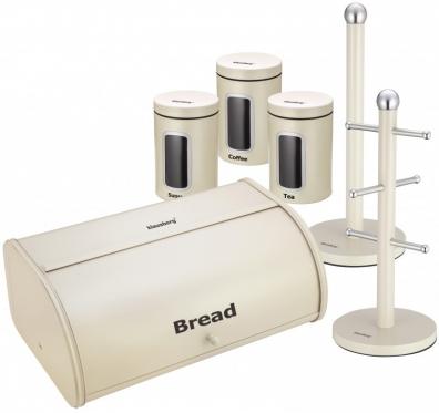 """Duoninė """"Klausberg"""" su virtuvės priedais, 44,5 x 26,5 x 17 cm"""