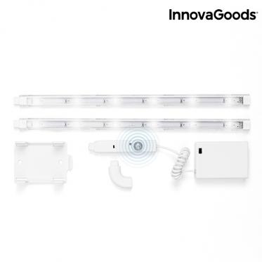 "LED šviestuvas su judesio jutikliu ""InnovaGoods"", 2 vnt"