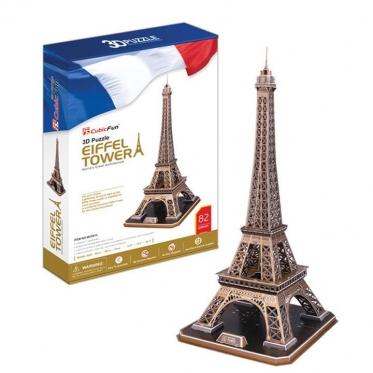"""Cubic Fun"" 3D dėlionė ""Eifelio bokštas"", 78 x 39 x 36 cm"