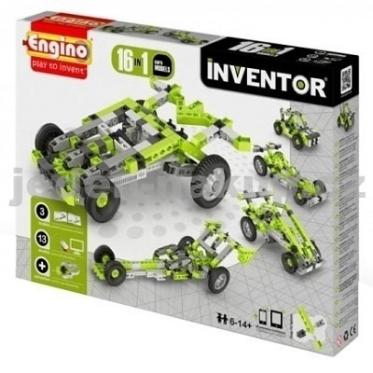 """""""Engino"""" konstruktorius """"Automobiliai"""", 16 modelių"""