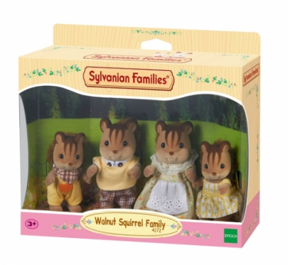 """Walnut voveraičių šeimynėlė """"Sylvanian Families"""""""