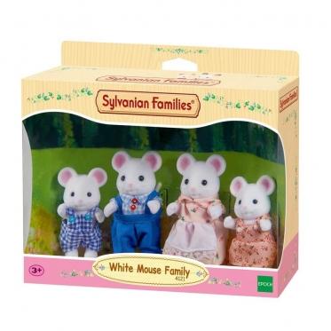 """Baltųjų peliukų šeimynėlė """"Sylvanian Families"""""""