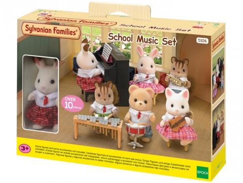"""Mokyklos muzikos pamokos rinkinys """"Sylvanian Families"""""""