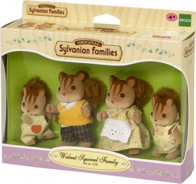 """Walnut voveraičių šeimynėlė """"Sylvanian Families"""" (vasariški drabužiai)"""