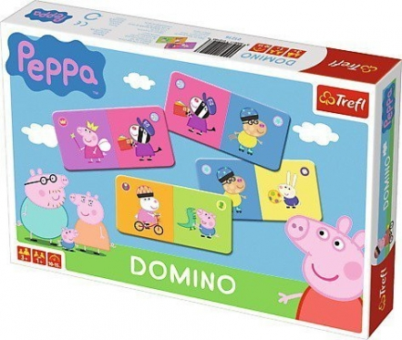 """Trefl"" domino ""Kiaulytė Peppa"""