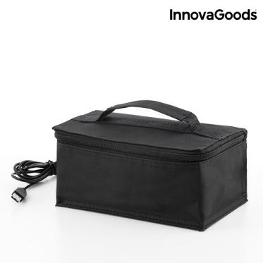 """USB šildoma priešpiečių dėžutė """"InnovaGoods"""", 21 x 9 x 13 cm"""