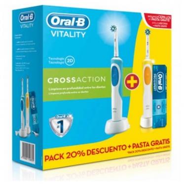 "Elektrinis dantų šepetėlis ""Oral-B Duo Vitality"", 2 vnt"