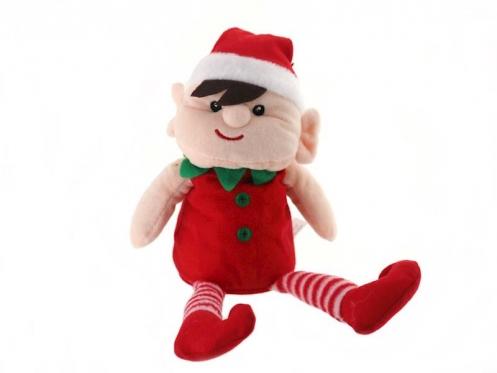 """Pliušinis Kalėdinis žaislas """"Elfas"""", 30 cm"""