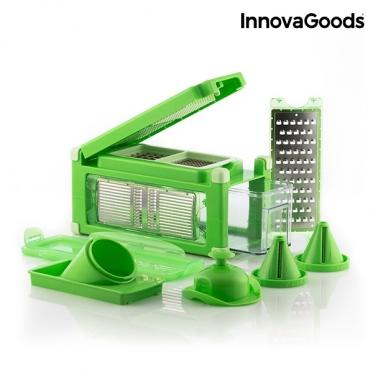 """Daržovių pjaustyklė ir tarka aštuoni viename su receptų knyga """"InnovaGoods"""""""