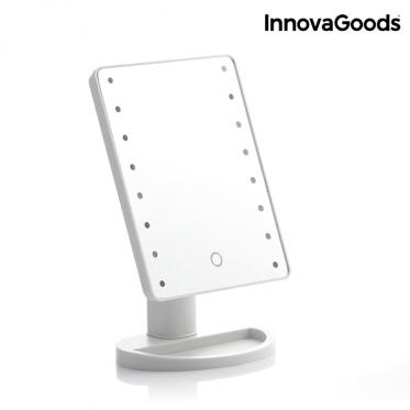 """Pastatomas veidrodis su LED apšvietimu ir sensoriumi """"InnovaGoods"""""""