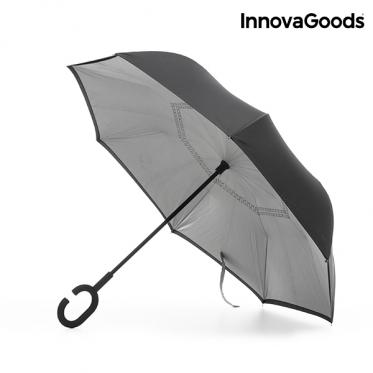 """Atvirkščiai sulankstomas skėtis """"InnovaGoods"""""""