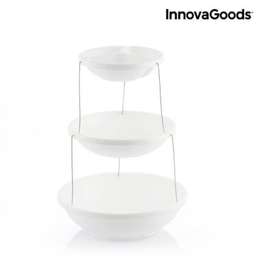 """Sulankstomų dubenėlių užkandžių stovas """"InnovaGoods"""""""
